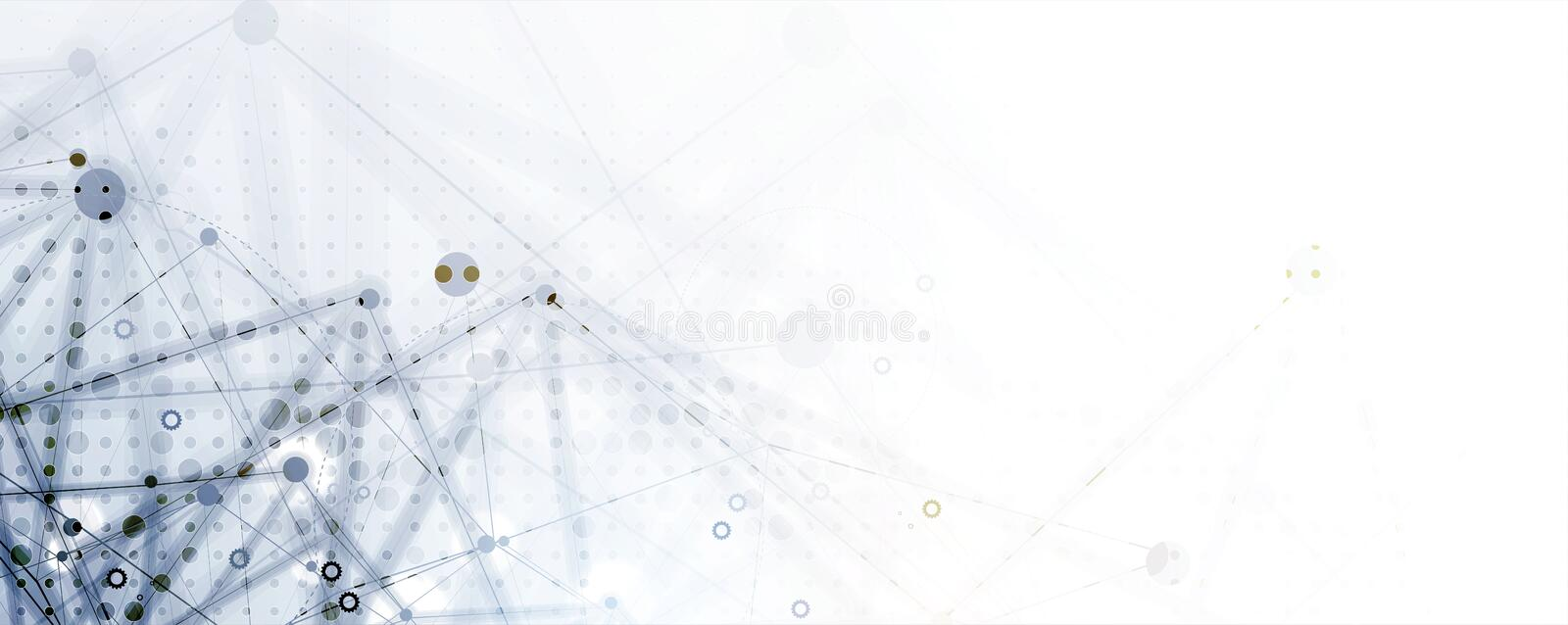 Technology data background, idea of global business solution. Technology innovation background, idea of global business solution royalty free illustration