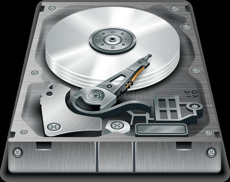 Technology, Data Storage Device, Hard Disk Drive, Computer Component stock images