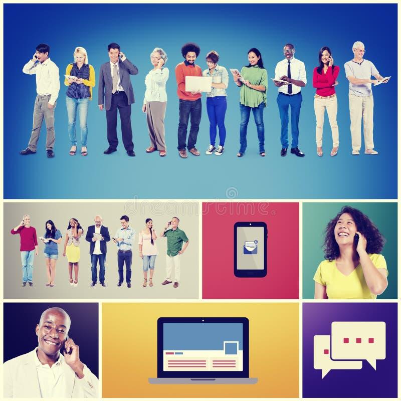 Technology Digital Device Communication Connection Concept. Technology Digital Device Communication Connection Diversity Concept stock photo