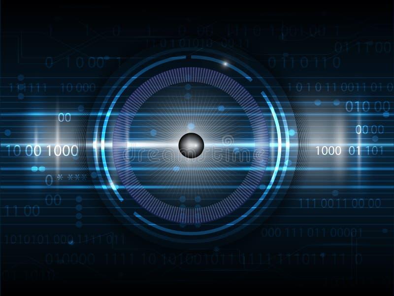 Technology10-6-14 digital futuro ilustración del vector
