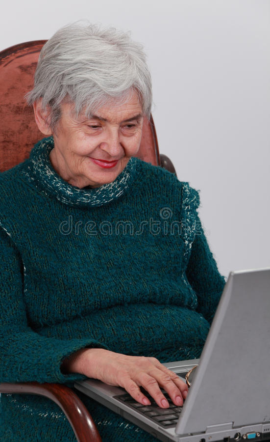 Download Technology is for everyone stock photo. Image of elderly - 17773214