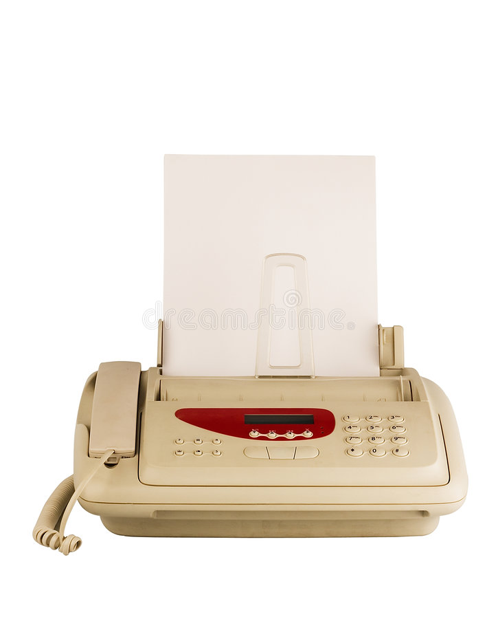 Download Technology fax machine stock image. Image of edit, print - 4839567