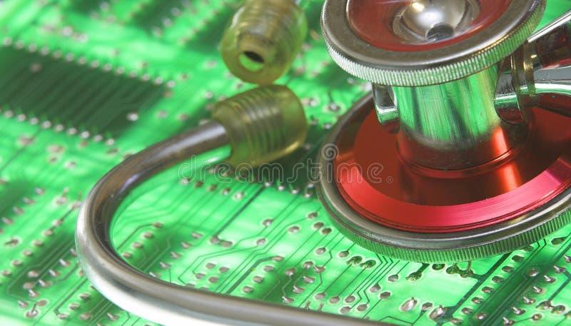 Technology Health royalty free stock photos
