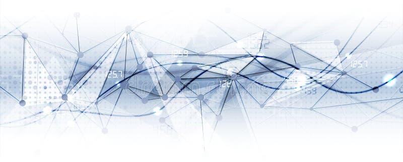 Technology data background, idea of global business solution. Technology innovation background, idea of global business solution royalty free illustration