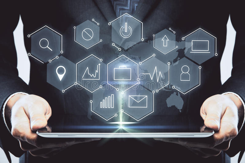 Technology and innovation concept stock photos