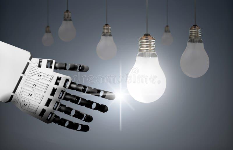 Technology leader concept stock illustration