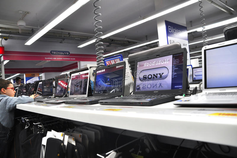 Technology Market Editorial Photo