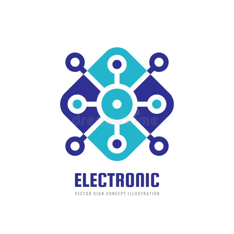Technology - Vector Logo Template For Corporate Identity ...