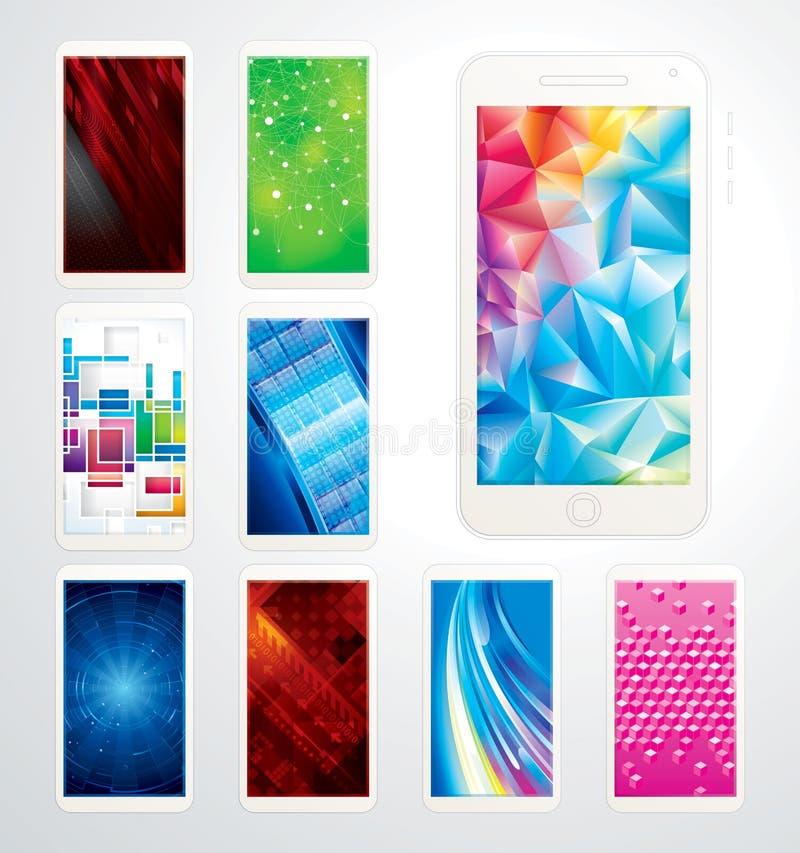 Technology Wallpaper royalty free stock photo