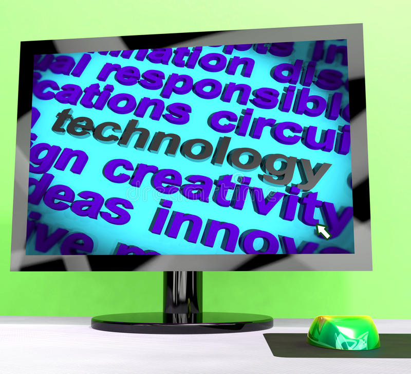 Download Technology Word Meaning Innovation Software And Hi Tech Stock Illustration - Image: 26475719