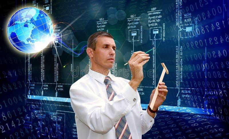 Technoogy innovateur d'ingénierie photos stock