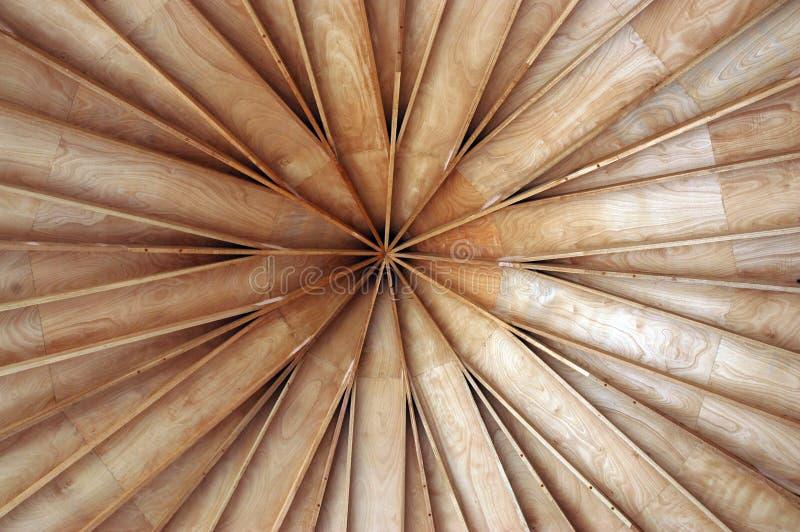 Techo de madera fotografía de archivo libre de regalías