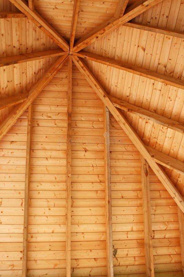 Techo de madera del Gazebo imagen de archivo. Imagen de enmarcado ...