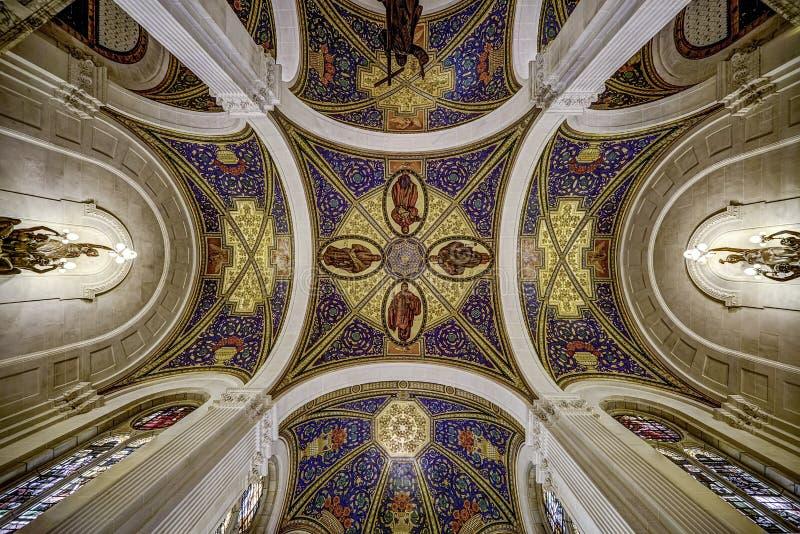 Techo del palacio de la paz fotografía de archivo