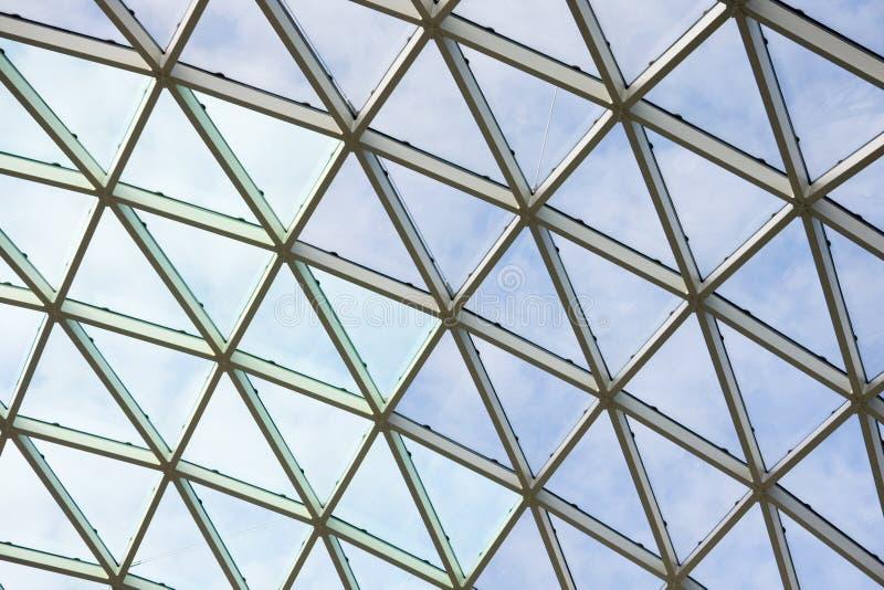Techo en el edificio de oficinas imagen de archivo libre de regalías