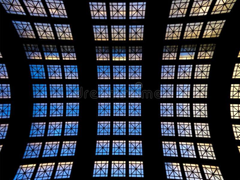 Techo/tejado arqueado imagen de archivo