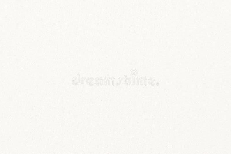 Tecido de algodão branco textura tecida da lona com fundo cinzento do teste padrão Projeto de linho do ofício do saco do foco mac fotografia de stock