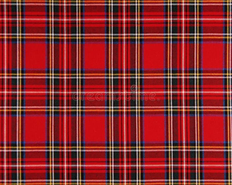 Tecido escocês foto de stock royalty free