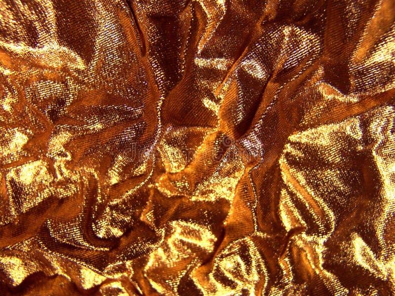 Tecido - ouro abstrato. imagens de stock royalty free
