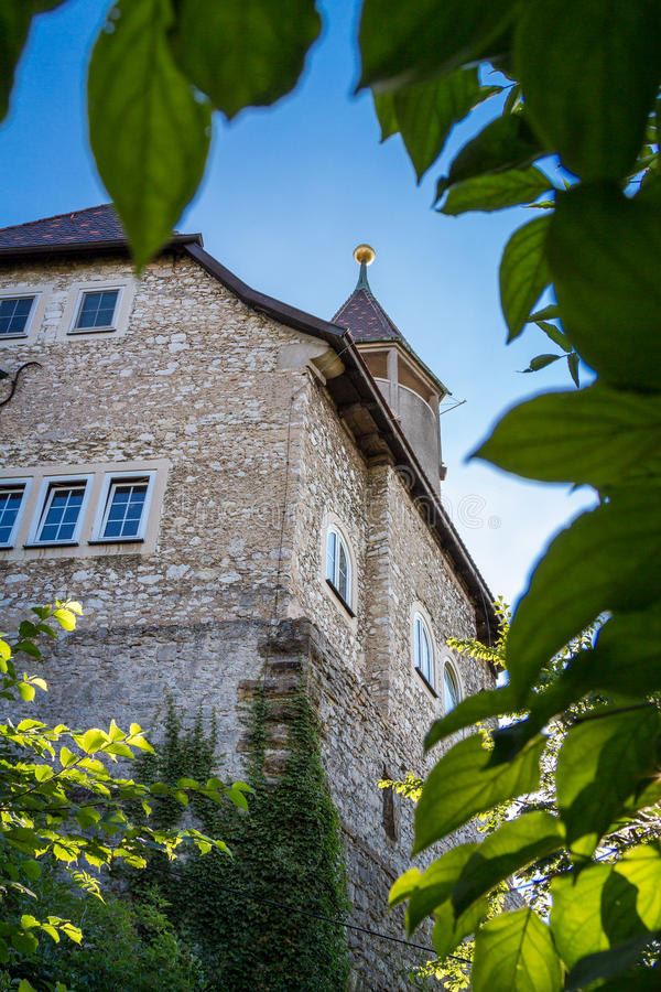 Teck城堡 免版税库存照片