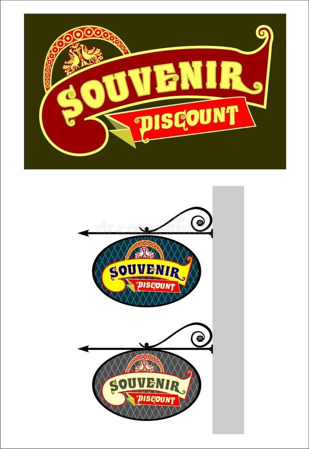 tecken stock illustrationer