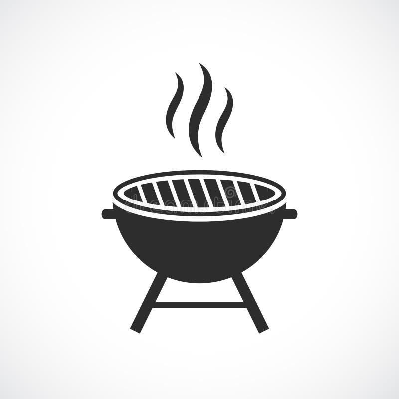 Tecken för grillfestgallervektor stock illustrationer
