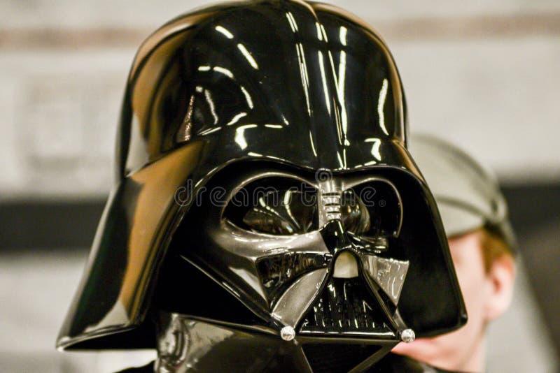Tecken för stjärnakrig på komiker lurar regel royaltyfria foton
