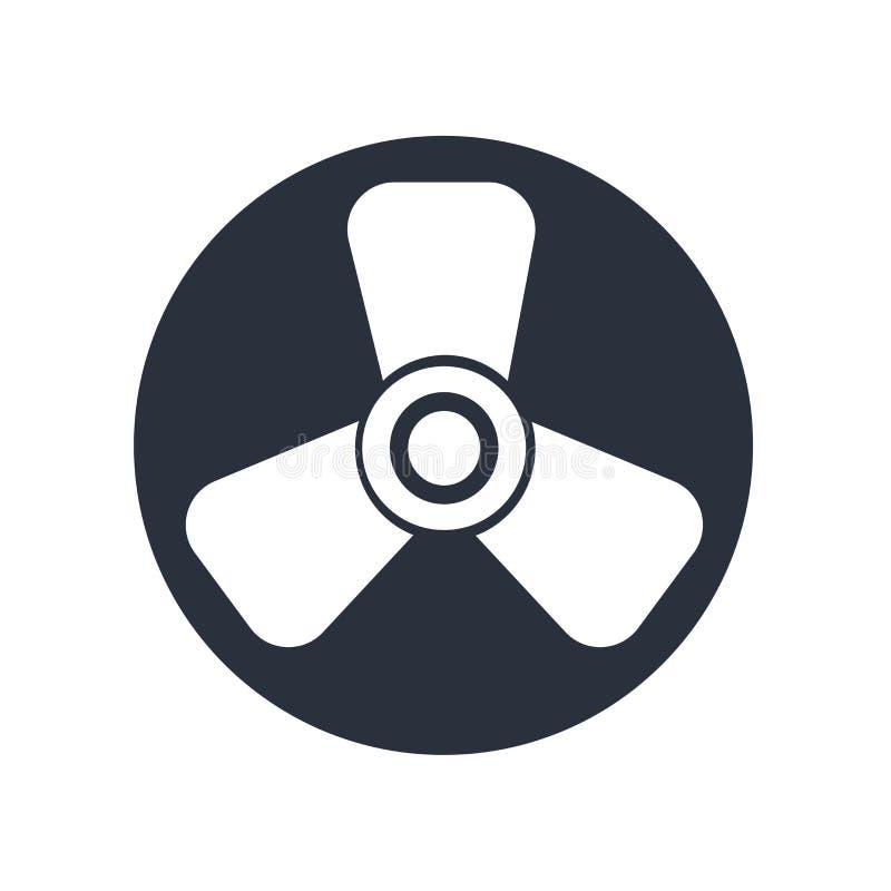 Tecken och symbol för Biohazardsymbolsvektor som isoleras på vit bakgrund, Biohazardlogobegrepp vektor illustrationer