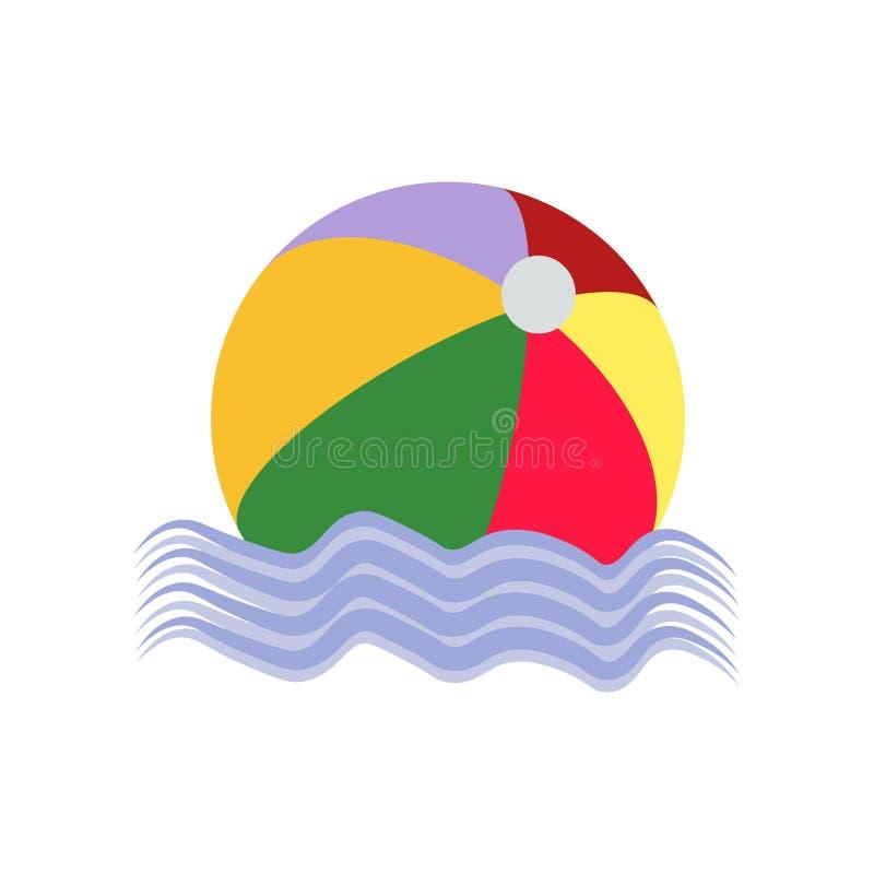 Tecken och symbol för bollsymbolsvektor som isoleras på vit bakgrund, bolllogobegrepp vektor illustrationer