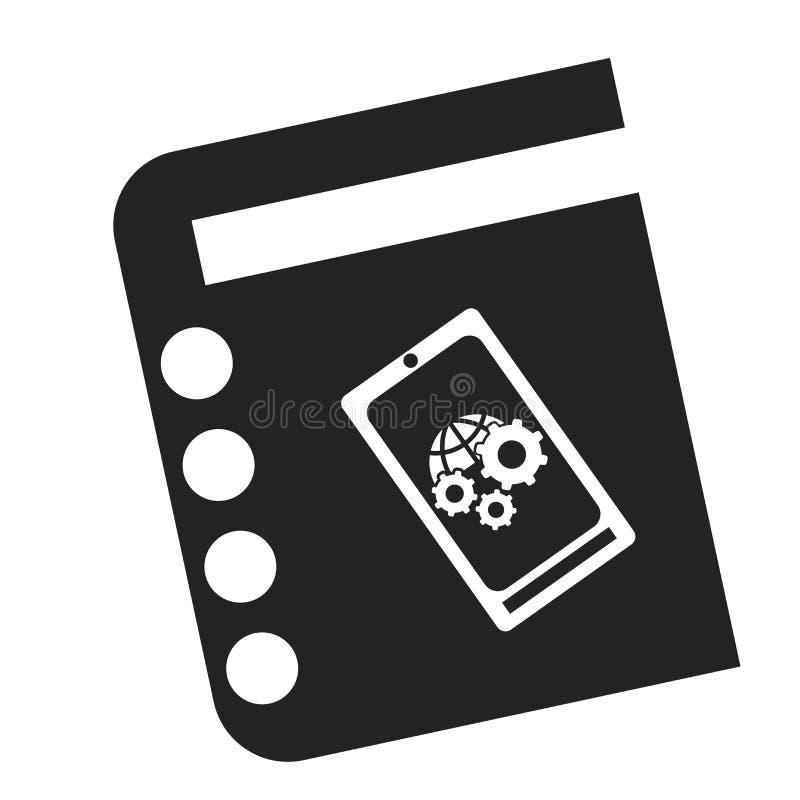 Tecken och symbol för dagordningsymbolsvektor som isoleras på vit bakgrund, dagordninglogobegrepp royaltyfri illustrationer