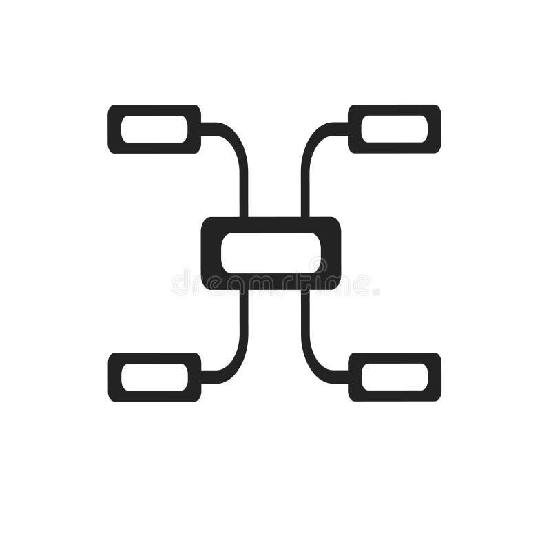 Tecken och symbol för diagramsymbolsvektor som isoleras på vit bakgrund, diagramlogobegrepp royaltyfri illustrationer