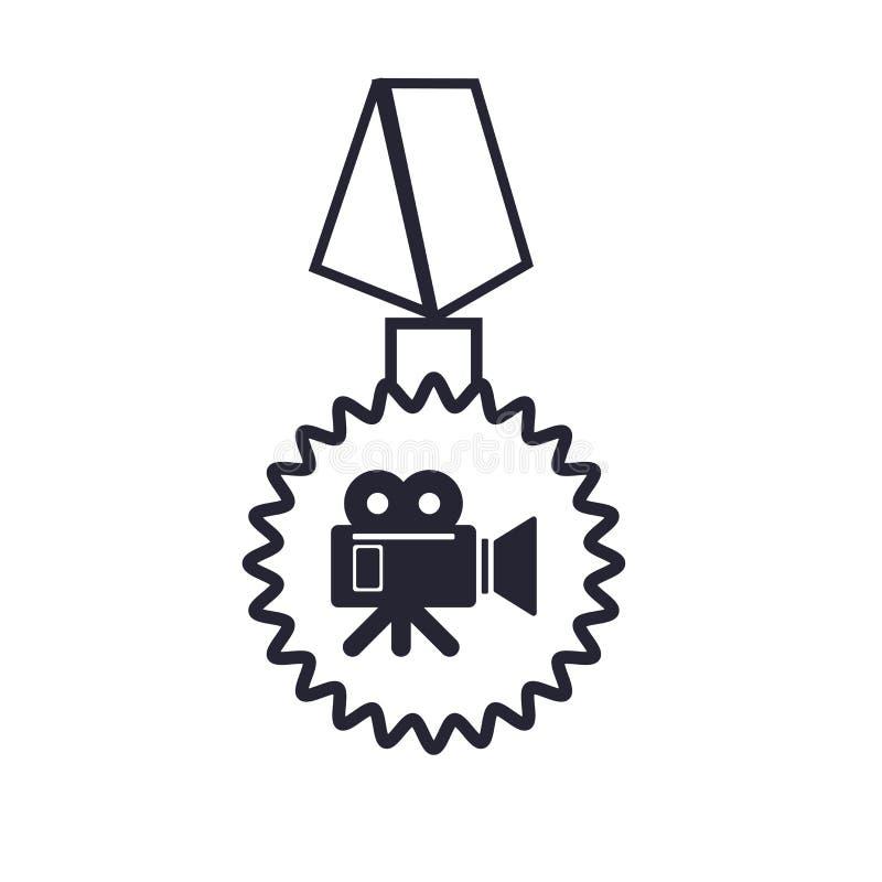 Tecken och symbol för emblemsymbolsvektor som isoleras på vit bakgrund, emblemlogobegrepp stock illustrationer