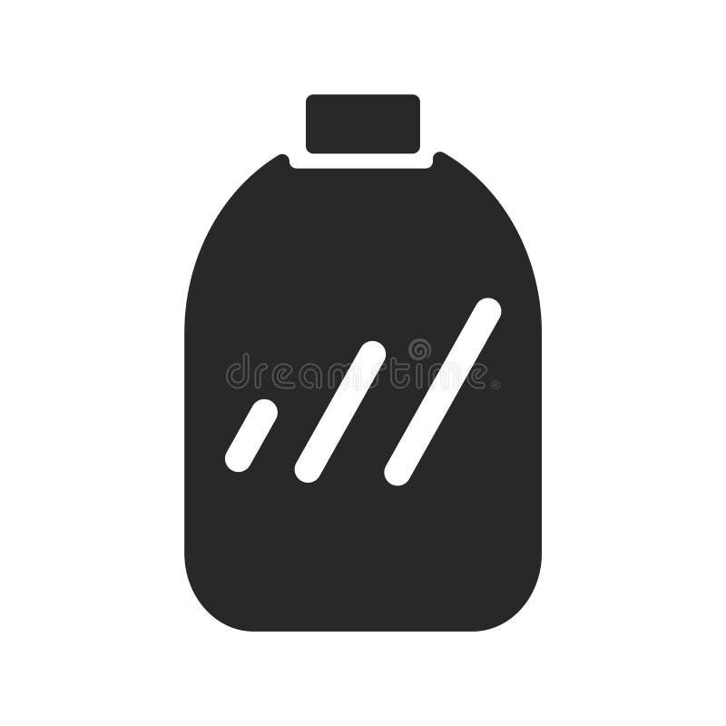 Tecken och symbol för fruktkonservsymbolsvektor som isoleras på vit bakgrund, fruktkonservlogobegrepp stock illustrationer