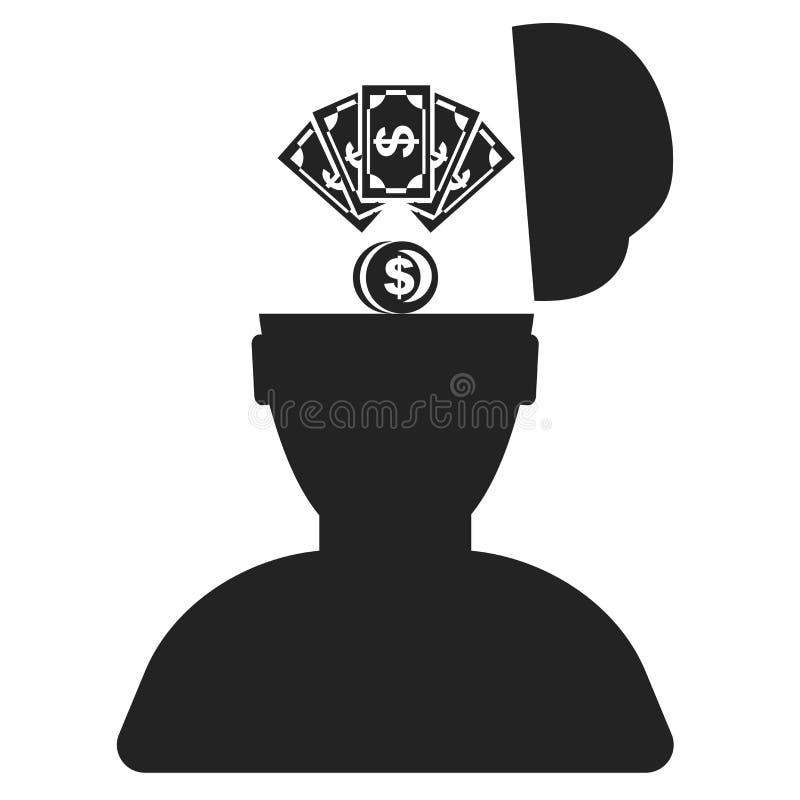Tecken och symbol för idésymbolsvektor som isoleras på vit bakgrund, idélogobegrepp royaltyfri illustrationer