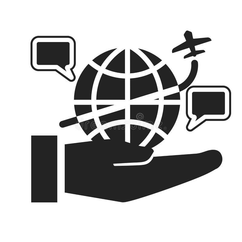 Tecken och symbol för internetsymbolsvektor som isoleras på vit bakgrund, internetlogobegrepp vektor illustrationer