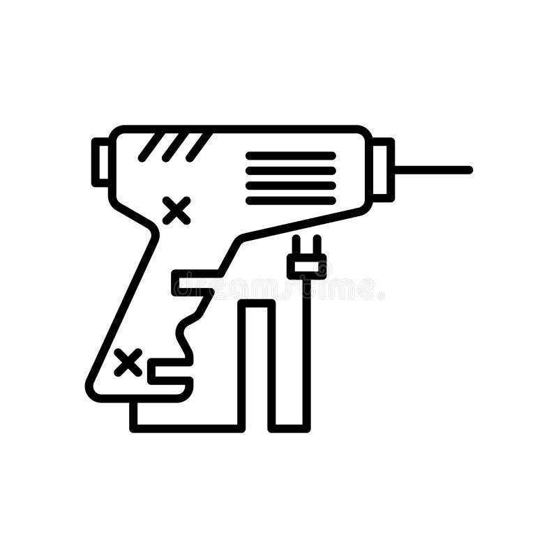 Tecken och symbol för lödmetallsymbolsvektor som isoleras på vit bakgrund, lödmetalllogobegrepp vektor illustrationer