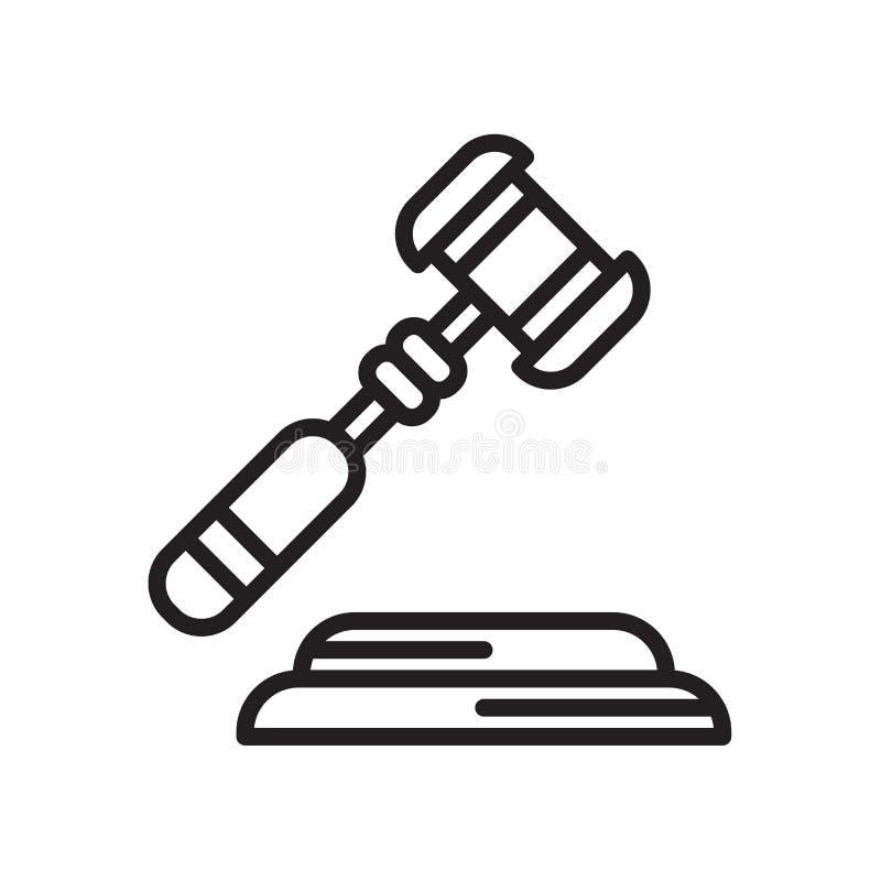 Tecken och symbol för lagsymbolsvektor som isoleras på vit bakgrund, La stock illustrationer