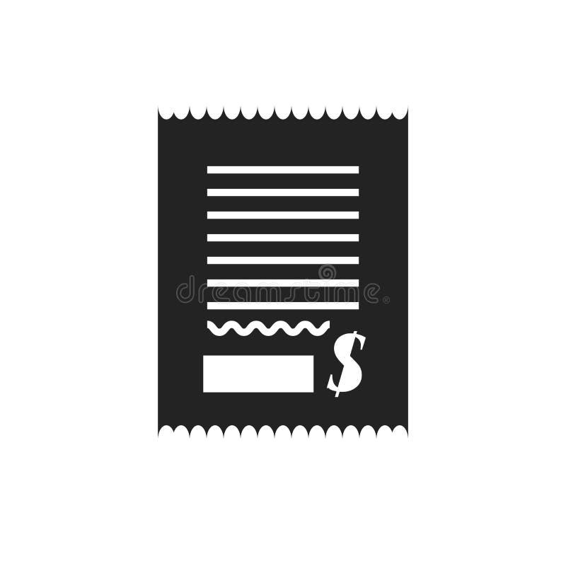 Tecken och symbol för räkningsymbolsvektor som isoleras på vit bakgrund, räkninglogobegrepp vektor illustrationer