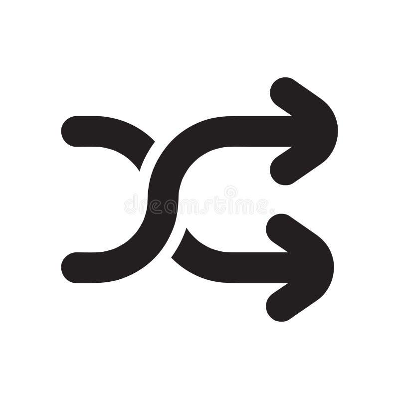 Tecken och symbol för rörasymbolsvektor som isoleras på vit bakgrund, röralogobegrepp stock illustrationer