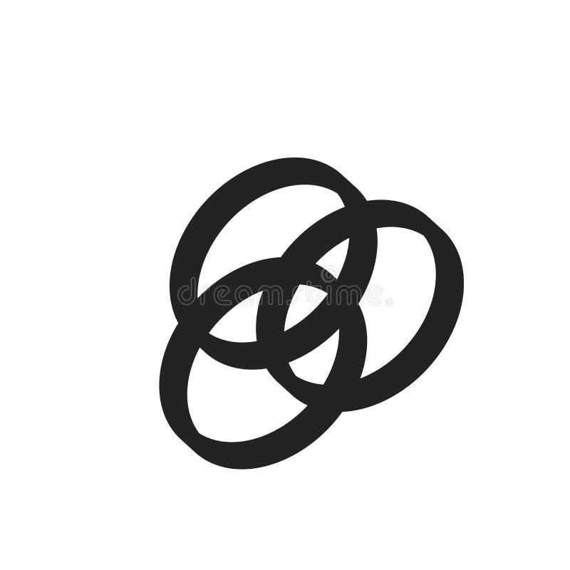 Tecken och symbol för Rgb-symbolsvektor som isoleras på vit bakgrund, Rgb-logobegrepp vektor illustrationer
