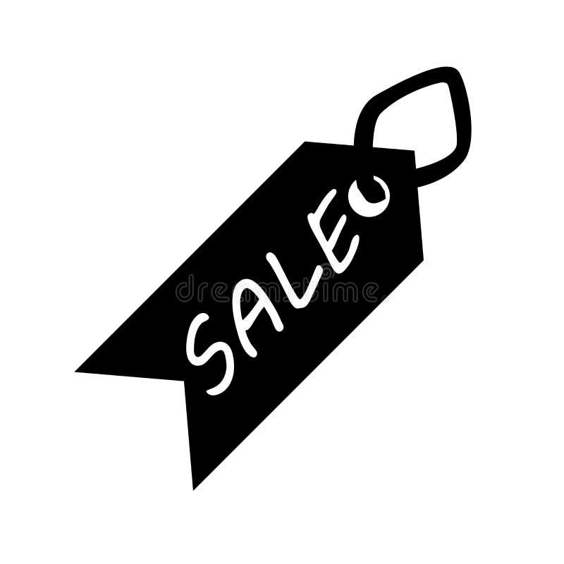 Tecken och symbol för Sale symbolsvektor som isoleras på vit bakgrund, Sale logobegrepp royaltyfri illustrationer