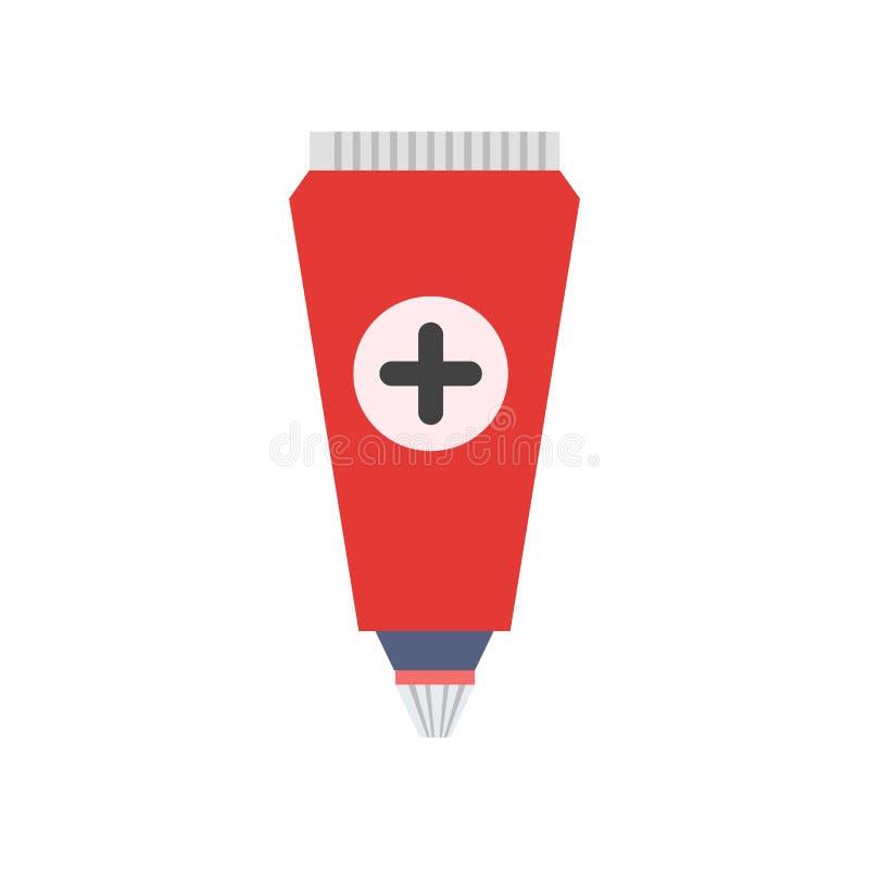 Tecken och symbol för salvasymbolsvektor som isoleras på vit backgroun stock illustrationer