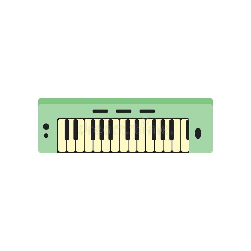 Tecken och symbol för tangentbordsymbolsvektor som isoleras på vit backgroun vektor illustrationer