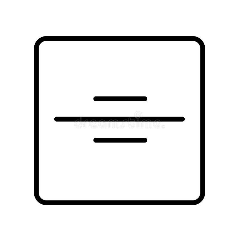 Tecken och symbol för uppdelningssymbolsvektor som isoleras på vit backgroun royaltyfri illustrationer