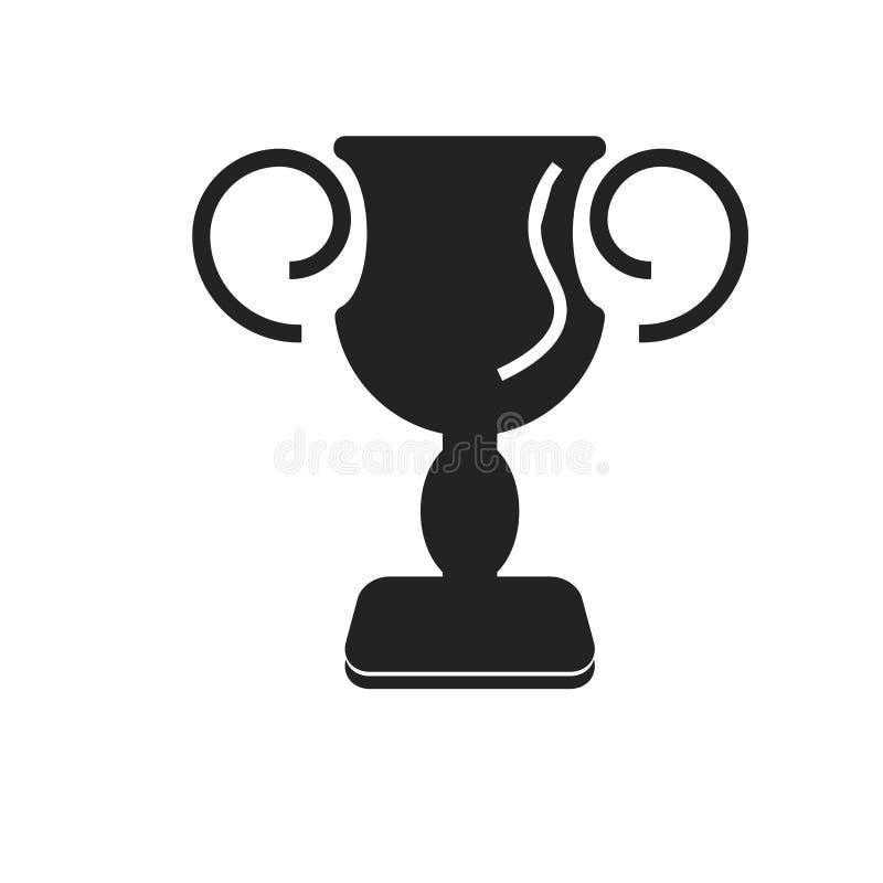 Tecken och symbol för utmärkelsesymbolsvektor som isoleras på vit bakgrund, utmärkelselogobegrepp stock illustrationer