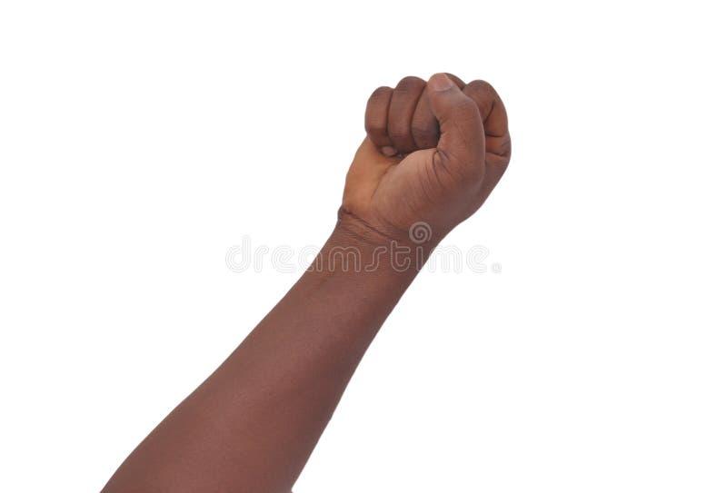 Teckenspråk arkivfoto