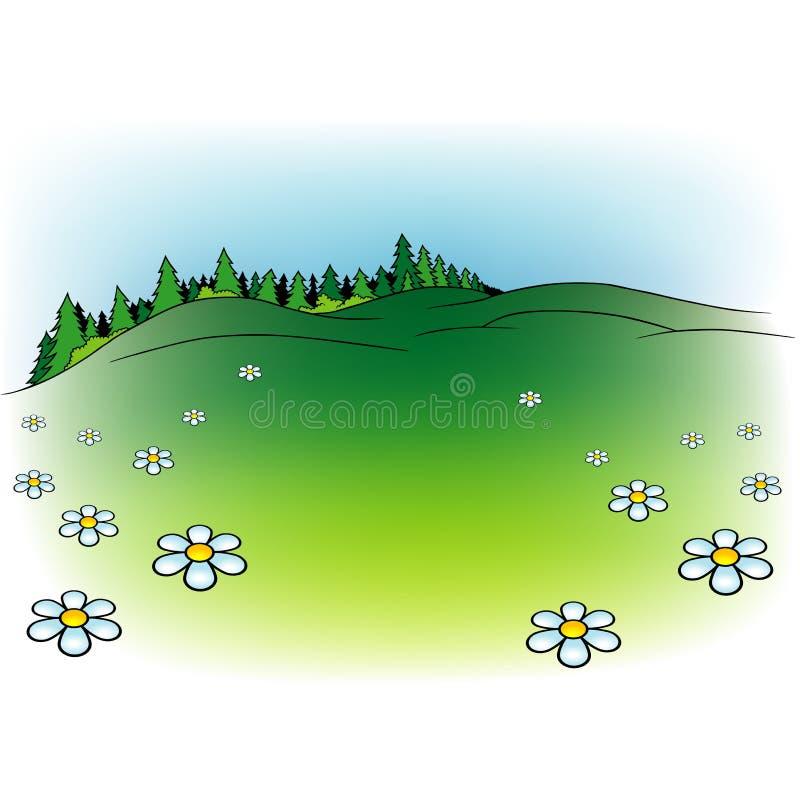 tecknad film för 06 bakgrund royaltyfri illustrationer