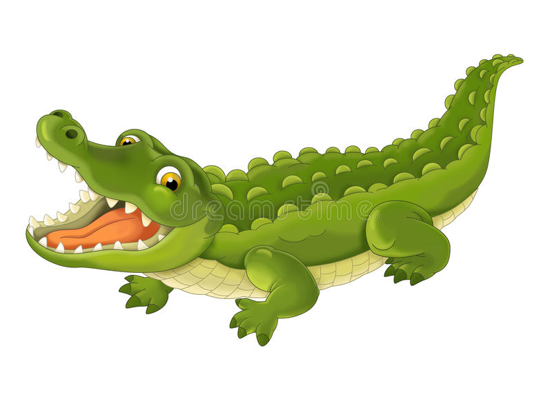 Tecknad filmdjur - illustration för barnen stock illustrationer