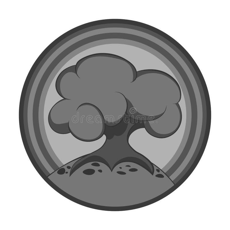 Tecknad filmträdsymbol stock illustrationer