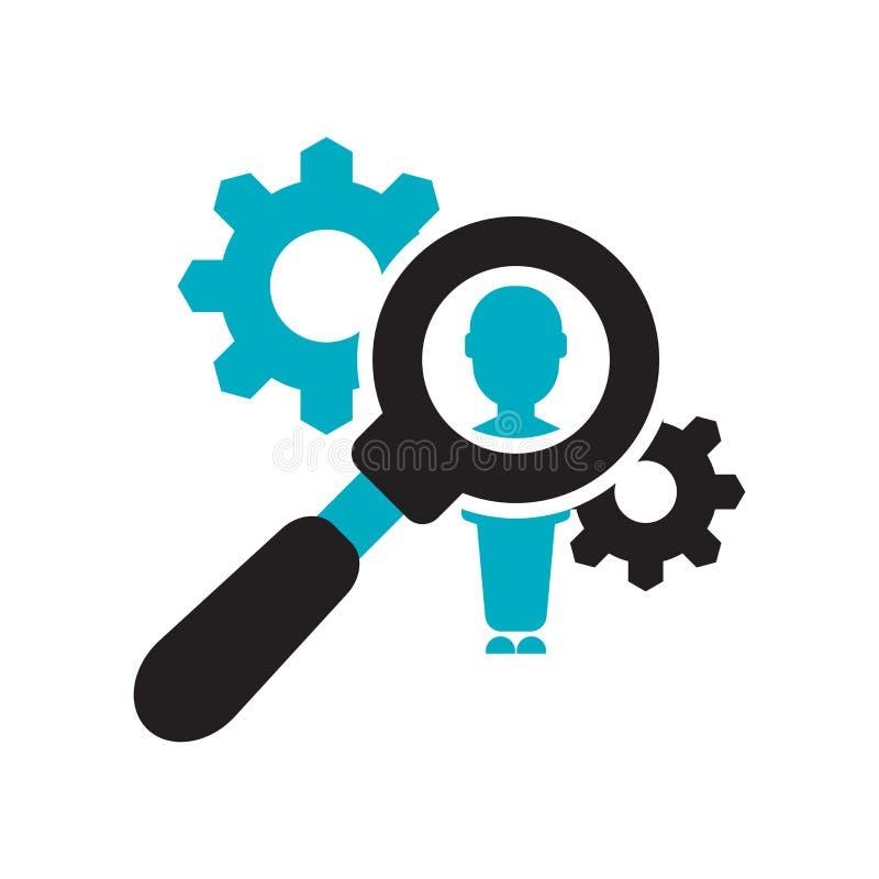 Tecknet och symbolet för vektor för timme-servicesymbol som isoleras på vit bakgrund, timme servar logobegrepp royaltyfri illustrationer